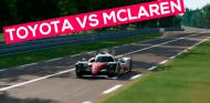 Toyota TS050 vs Fórmula 1 en Le Mans | SimRacing
