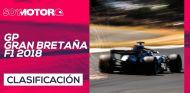 GP de Gran Bretaña F1 2018 – Directo clasificación