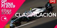 GP de China F1 2019 - Directo clasificación