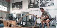 Ricciardo continúa con su entrenamiento físico en Los Ángeles
