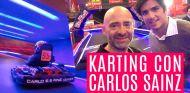 Duelo en karting con Carlos Sainz - El Garaje de Lobato