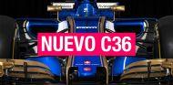 Sauber C36: nuevos colores para 2017