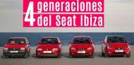 Seat Ibiza historia cuatro generaciones