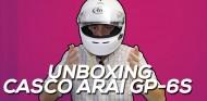 ¿Cómo son los cascos de carreras? Unboxing Arai GP-6S