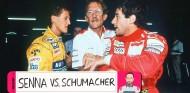Cuando Senna le puso la mano encima a Schumacher | Archivo Rosaleny - SoyMotor.com