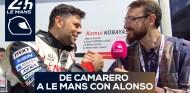 De camarero a Le Mans con Alonso: Sebastián Lorenzo | Rosaleny en Le Mans