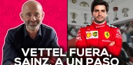 Vettel sale de Ferrari, Carlos Sainz está a un paso | El Garaje de Lobato