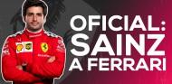 OFICIAL: Carlos Sainz, piloto de Ferrari desde 2021 | SoyMotor.com
