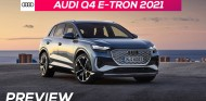 Audi Q4 e-tron 2021 - Preview en español