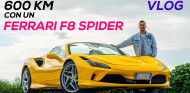 ¿Cómo es viajar con un Ferrari F8 Spider?