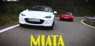 Mazda MX-5, el descapotable más famoso del mundo: Miata ND vs. NA   Coches SoyMotor.com