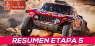 Sainz gana su segunda etapa y es aún más líder | Resumen Etapa 5 Dakar 2020