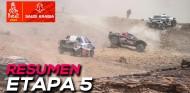 "Sainz: ""Esto no es el Dakar, parece una gymkhana"" | Resumen Etapa 5 Dakar 2021"