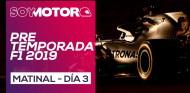 F1 2019 Test Barcelona, día 3 - Directo matinal