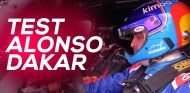 Fernando Alonso prueba el Toyota Hilux del Dakar | SoyMotor.com