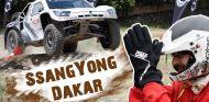 Pilotamos un SsangYong del Dakar