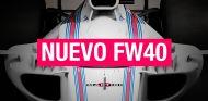 Williams FW40: el primer Fórmula 1 de 2017