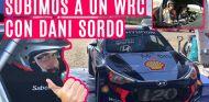 Nuestra primera vez en un WRC, con el HYUNDAI i20 de DANI SORDO