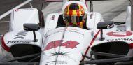 Oriol Servià en los entrenamientos previos a la Indy 500 de 2018 – SoyMotor.com