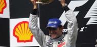 Pedro de la Rosa celebra el podio conseguido en el GP de Hungría F1 2006 - SoyMotor