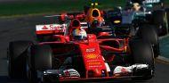 Vettel, Verstappen y Hamilton en el el GP de Australia - SoyMotor