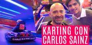 Duelo en karting con Carlos Sainz y Antonio Lobato - SoyMotor.com