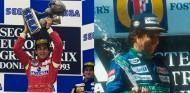 Senna y Piquet, los dos pilotos que corrieron sin contrato - SoyMotor.com