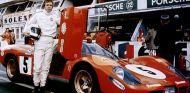 Los actores y Le Mans