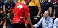 Sebastian Vettel y Jean Todt en el GP de Canadá - SoyMotor