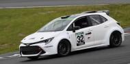 El Toyota con motor de hidrógeno ya rueda en Fuji