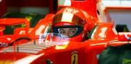 Valentino Rossi en una imagen de archivo de un test con Ferrari - SoyMotor