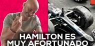 Lewis Hamilton es un tipo muy afortunado