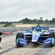FOTOS: Alonso prueba el IndyCar de Andretti en Barber