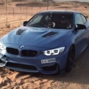 BMW M4 Crazy 360 Drifting