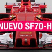 Ferrari SF70-H, así es el nuevo F1 de Vettel y Raikkonen