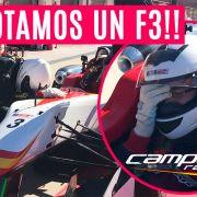 ¡Pilotamos un Fórmula 3! Una experiencia inolvidable con Campos Racing