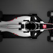 Haas VF-18, el primer coche de la F1 2018