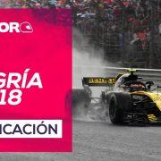 GP de Hungría F1 2018 – Directo clasificación