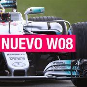 Mercedes W08, la nueva flecha plateada