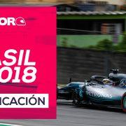 GP de Brasil F1 2018 – Directo clasificación