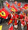 Tifosi de Ferrari en Monza - SoyMotor.com