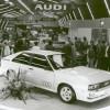 El Audi Quattro, en su presentación en el Salón de Ginebra de 1980 - SoyMotor.com