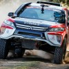 Al volante del Mitsubishi Eclipse Cross Dakar de Cristina Gutiérrez - SoyMotor.com