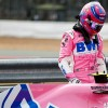 Lance Stroll en el parc fermé de Silverstone - SoyMotor.com