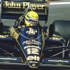 Ayrton Senna en el Lotus 98T, en el GP de Mónaco de 1986 - SoyMotor.com