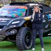 Christine Giampaoli con el coche de Hispano Suiza para el Extreme E - SoyMotor.com