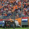 Aficionados holandeses durante un Gran Premio en 2017 - SoyMotor.com