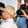 Valtteri Bottas y un cámara en una imagen de archivo - SoyMotor.com