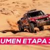 Sainz gana y se coloca líder; Alonso, quinto   Resumen Etapa 3 Dakar 2020