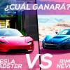 Rimac Nevera vs Tesla Roadster, ¿cuál es el eléctrico más bestial?